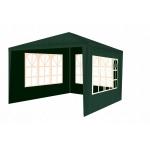 Malatec 12847 Záhradný párty stan 3 x 3 m + 3 bočné steny zelený