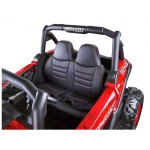 Detské elektrické auto Buggy SuperStar 4x4 červené